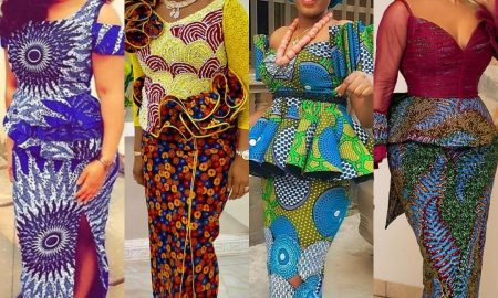 Pretty Ankara Skirt & Blouse