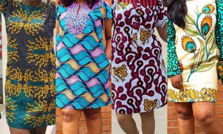 Ankara Shift gown styles