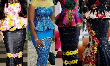Smashing Ankara Skirt & Blouse