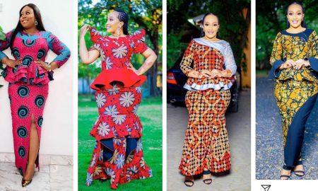 Ankara Skirt & Blouse For Church