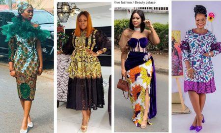 Ankara Gown Styles for church