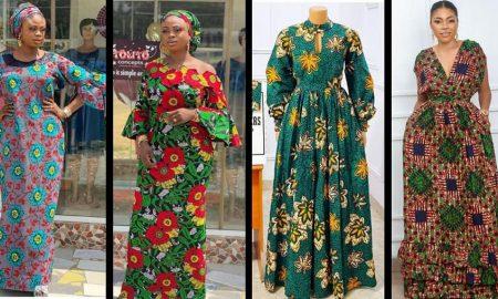 Boubou Ankara Gown Designs