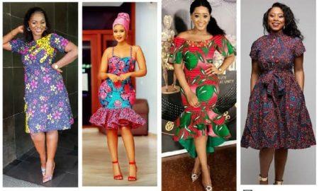 African Ankara Gown