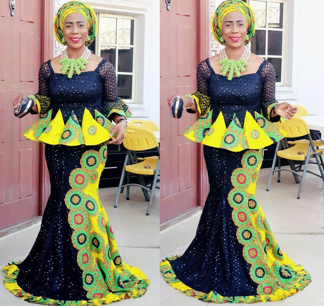 Ankara Skirt & Blouse For Church