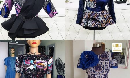 Cute & Dazzling Ankara Tops Styles