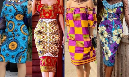 Different Ankara Gown Styles