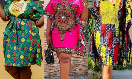 Agbada Ankara Gown Styles for ladies