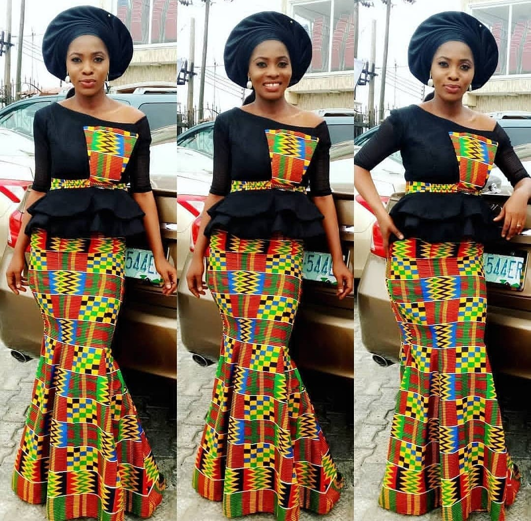 Ankara Styles For Slim Ladies Who Wants To Stand Out In