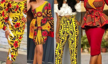Ankara Styles For slim ladies