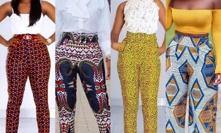 New Ankara Pants Styles