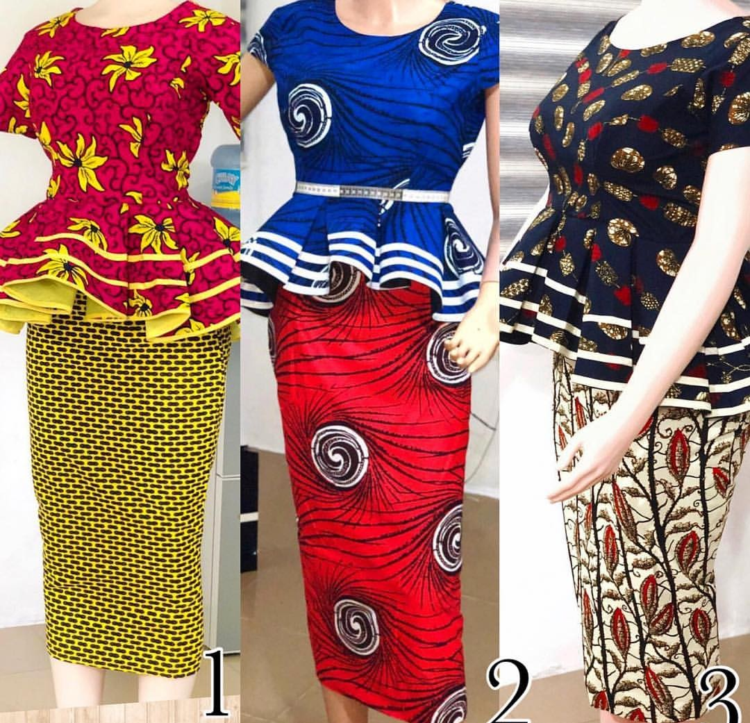 Lovely skirt & blouse