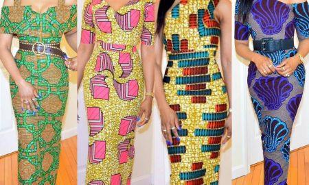 Ankara gown styles for slim ladies