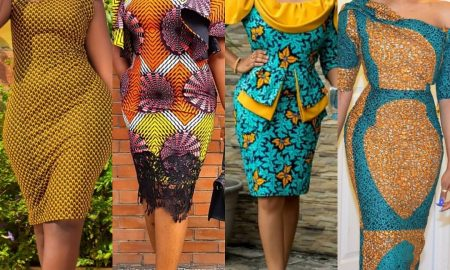 Ankara Gown Styles for church
