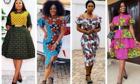 Dashing Ankara Gowns Collection