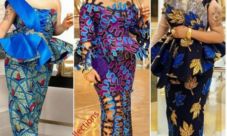 Eye-popping Ankara Skirt & Blouse