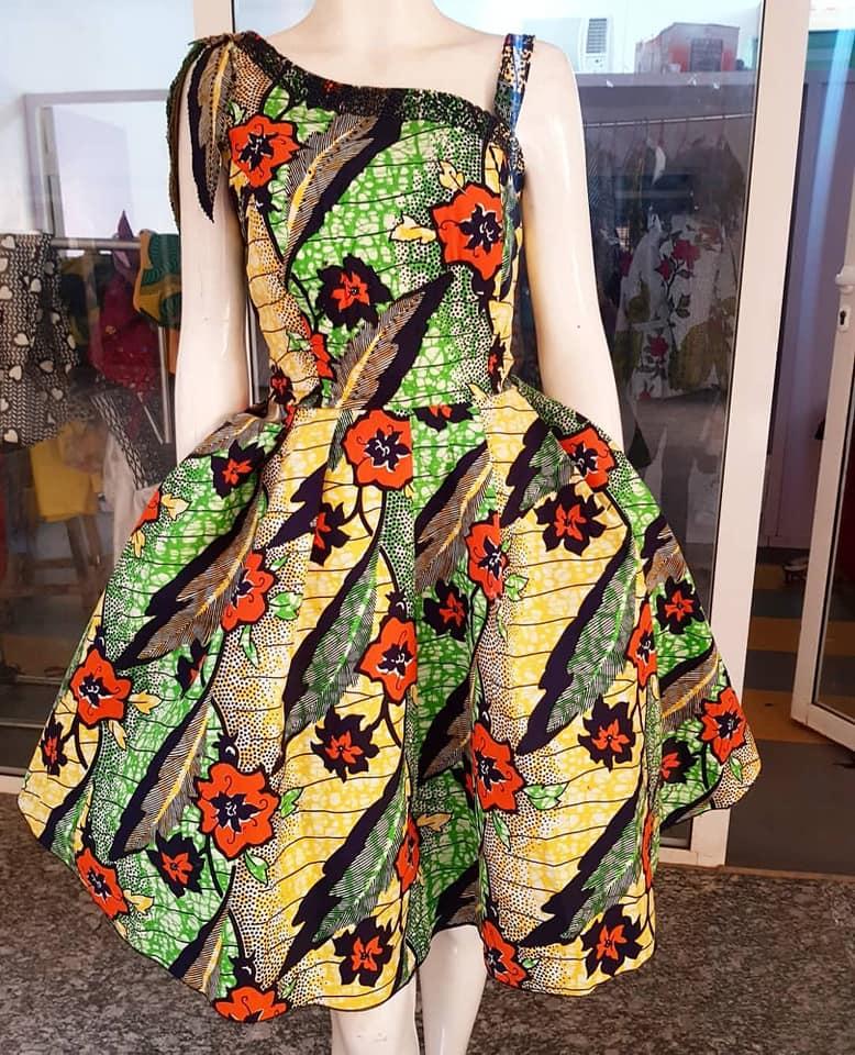 Ankara Gown Dresses For Weddings