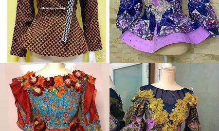 New Ankara Peplum Styles