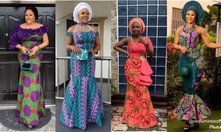 Ankara Gown Dresses For Weddings