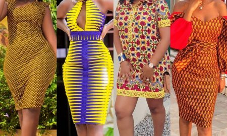 Fascinating Ankara Gown Designs