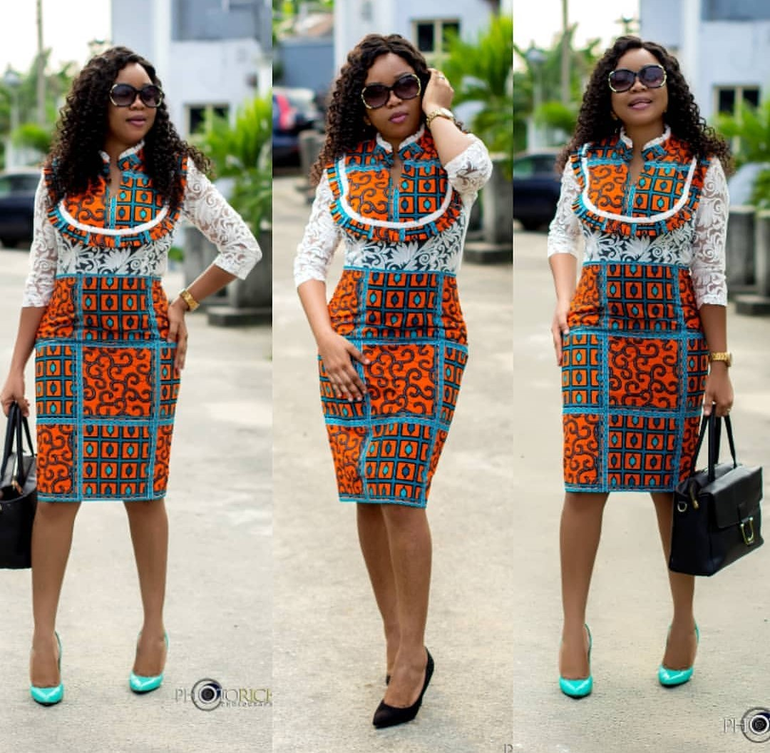Top 70 Office Ankara Styles For Business Class Ladies-70