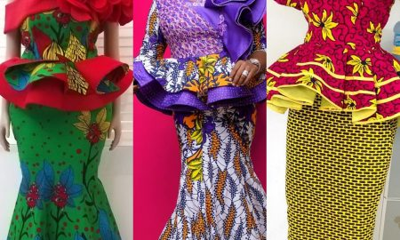 70+ Superb Ankara Skirt & Blouse