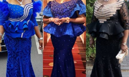 Latest Lace Skirt & Blouse Styles