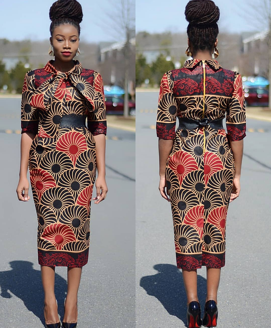 Corporate Ankara Gown Styles For High Class Ladies-70 Designs