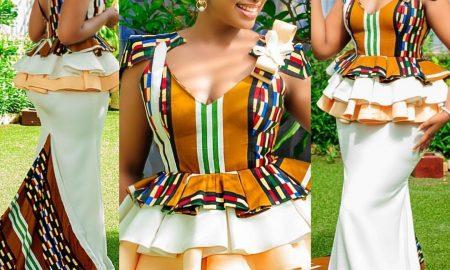 Sexy Ankara Skirt And Blouse