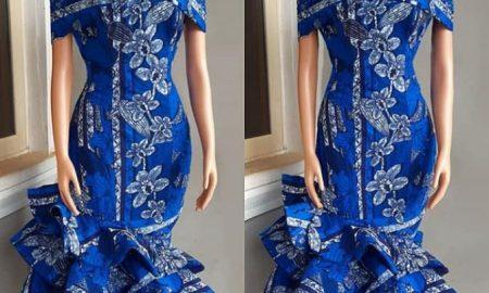 Ankara Gown Styles En-vogue