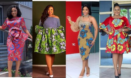 Trendy Ankara Gown Designs