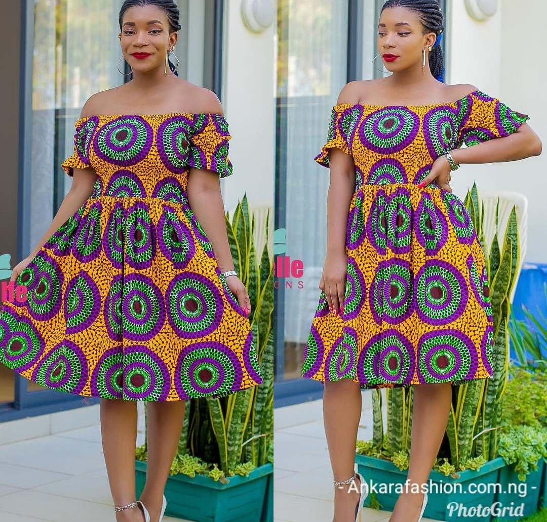 Latest Ankara Off Shoulder Styles See 50 Latest Off Should