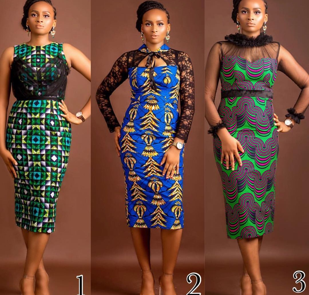Trendy Ankara Gown Designs