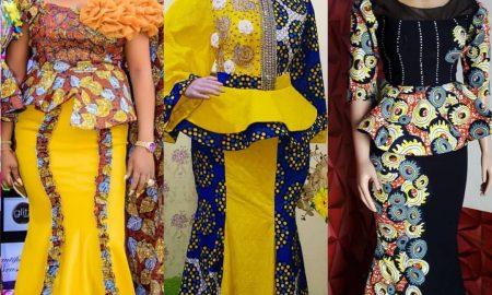 Beautiful Ankara Skirt & Blouse