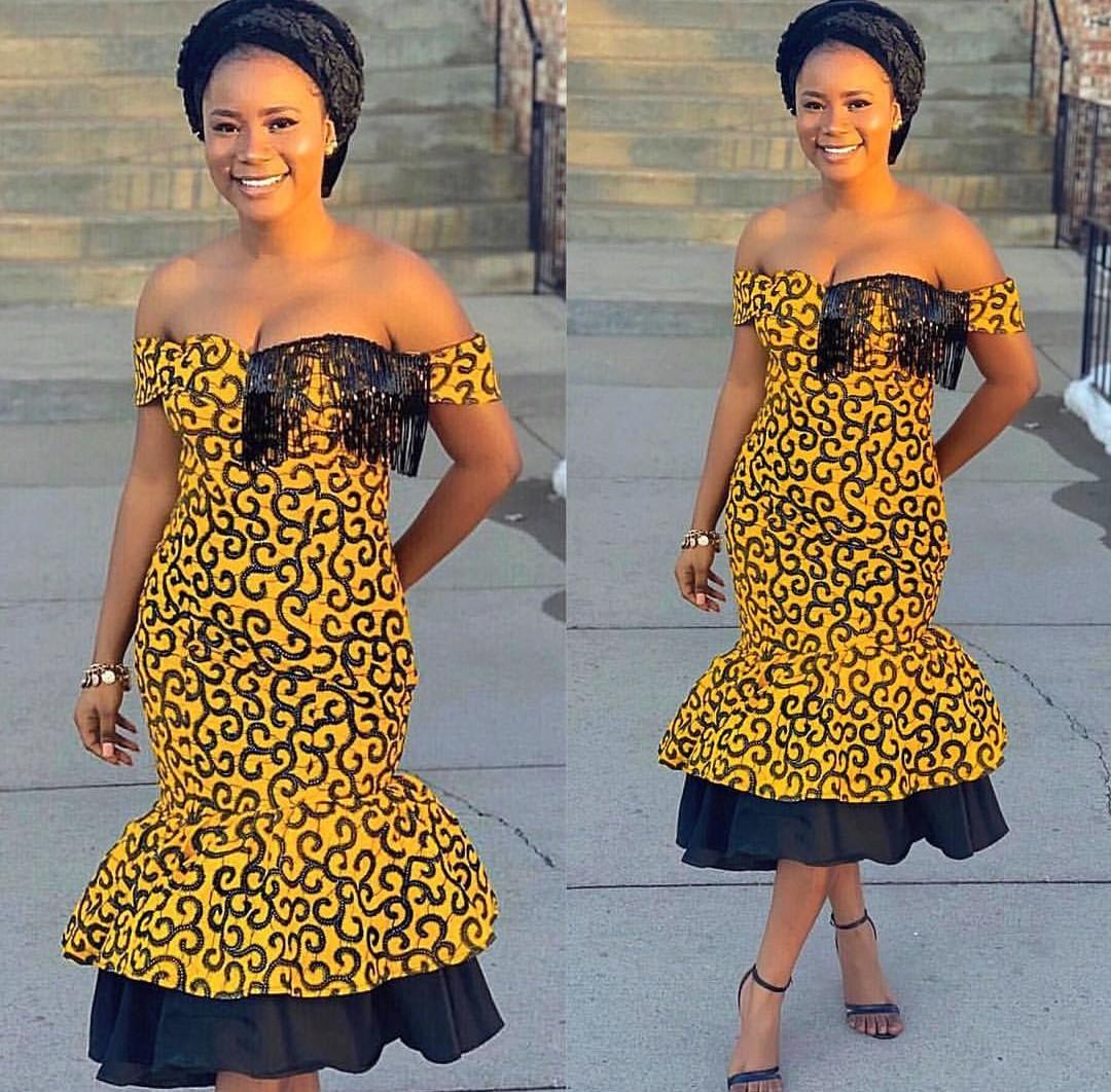 Ankara Gown Style En-vogue