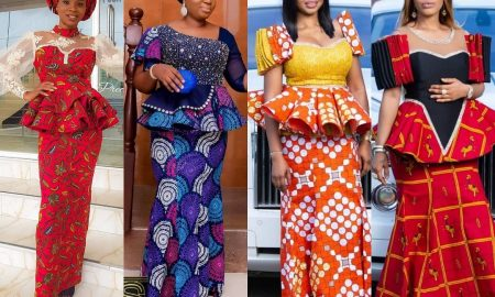 Ankara Design For Skirt And Blouse