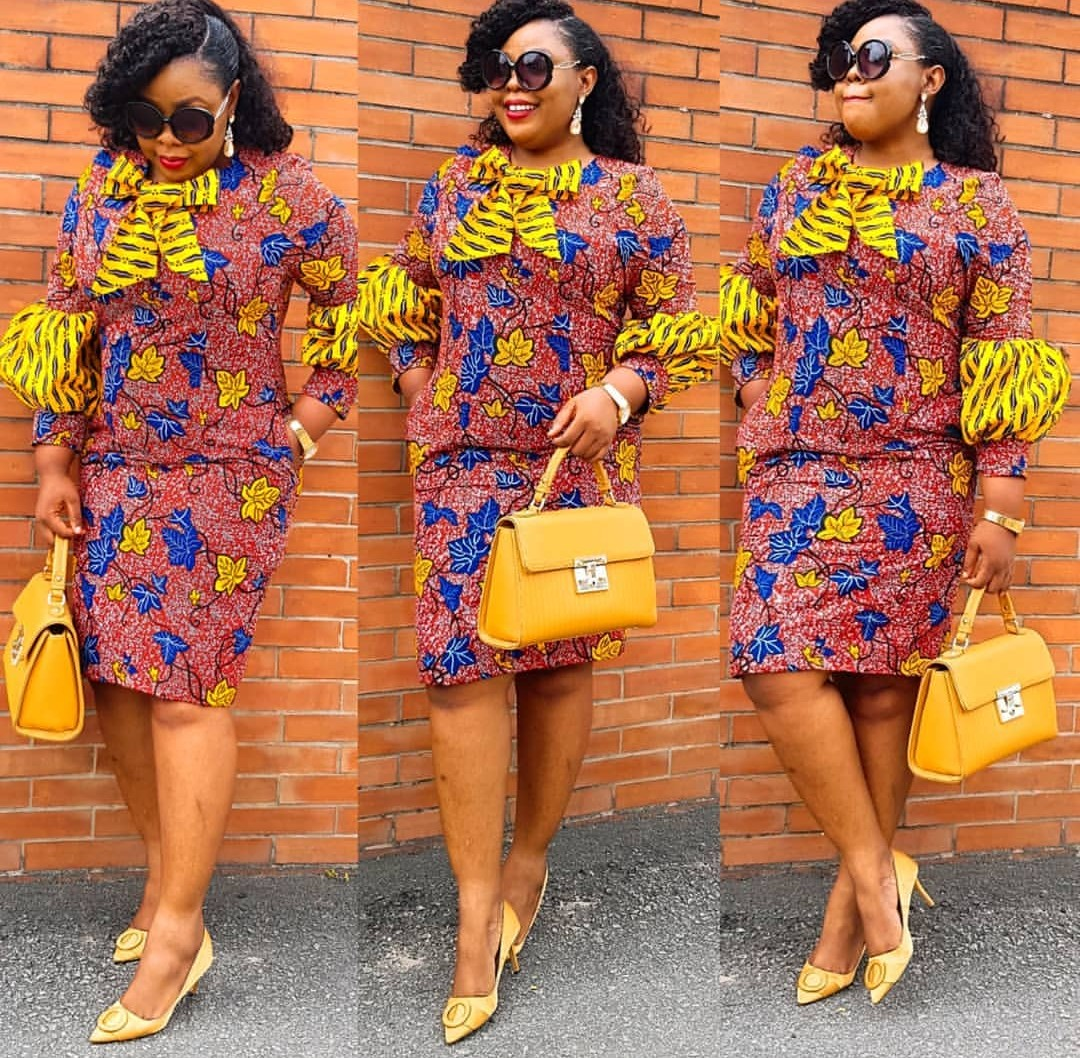 Ankara Gown Styles En-vogue