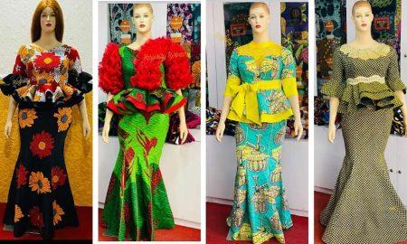 Smashing Ankara Skirt & Blouse