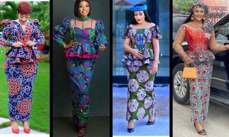 Latest Ankara Skirt & Blouse 2021