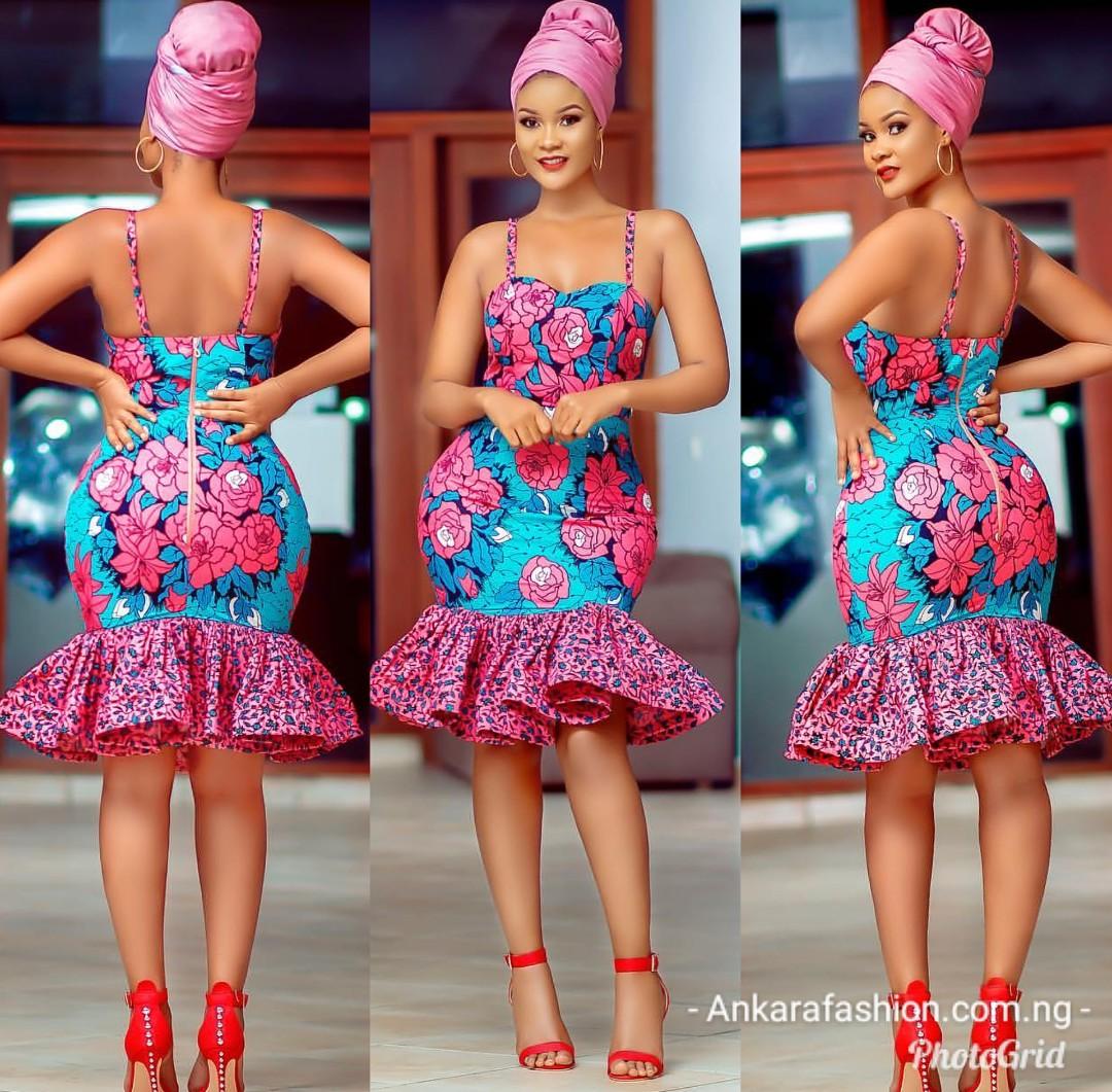 Chic Ankara Gown Styles