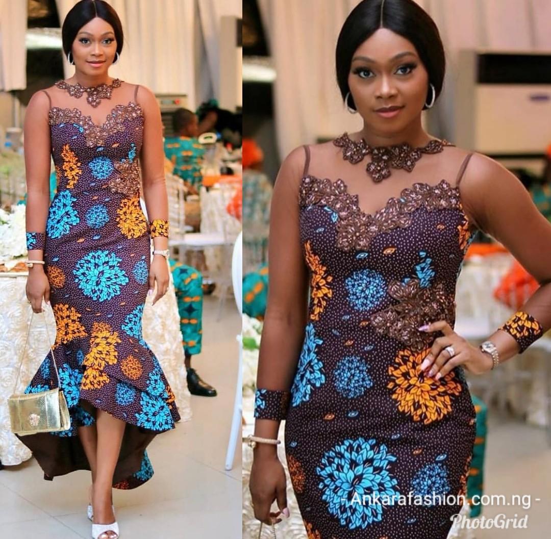 Alluring Ankara Gown Designs
