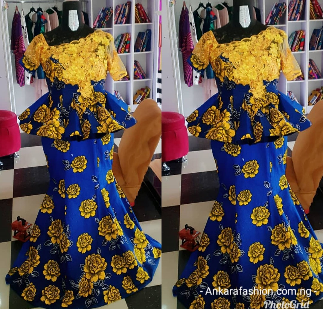 Chic Ankara Skirt and Blouse Styles