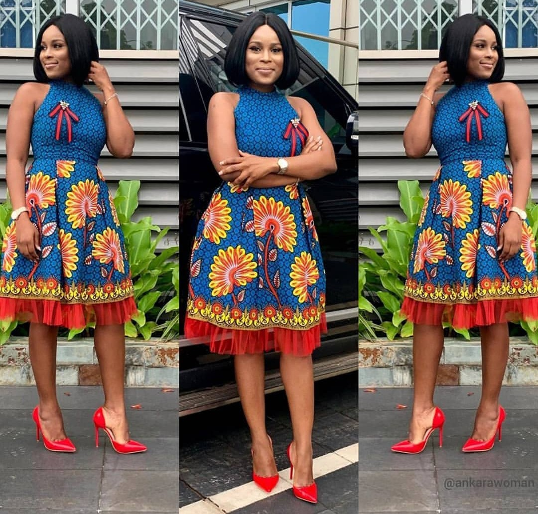 New Ankara Styles On Bellanaija