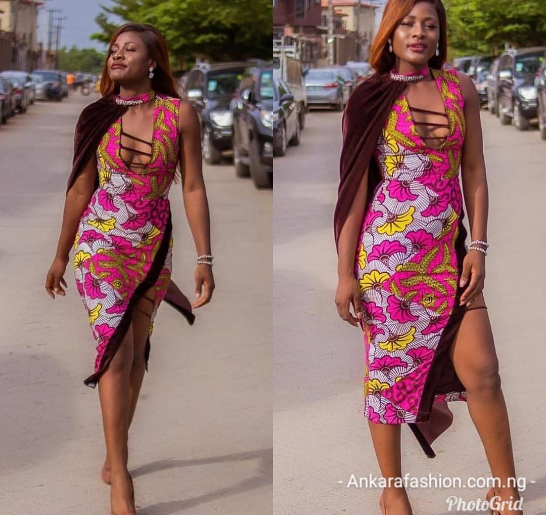 BellaNaija Ankara Gown Styles