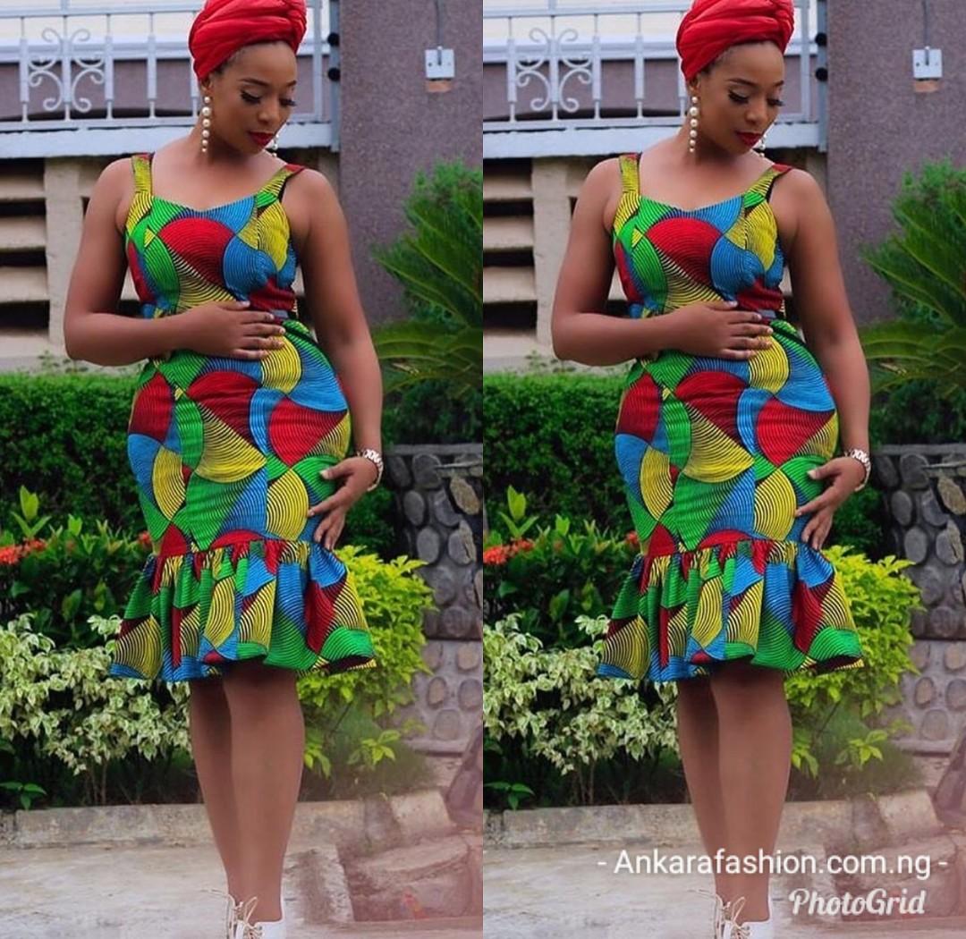 BellaNaija Ankara Gown Style