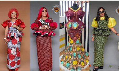 Latest Ankara Skirt & Blouse 2020
