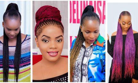 Ghana Weaving Hairdo for Christmas 2020