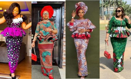 Prettiest Ankara Skirt and Blouse