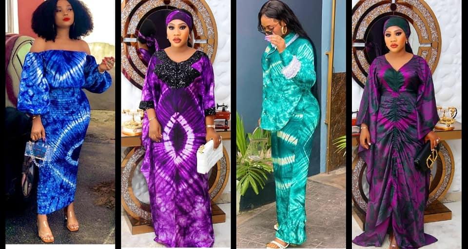 Latest Adire Styles For Ladies